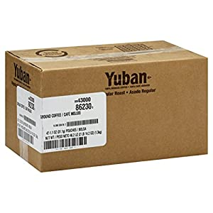 Yuban Café Roast Coffee, 1.1 oz. pack, Pack of 42