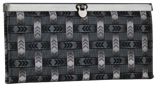 Fancy Womens Clutch Wallet Weave Design - Clutch Accordian
