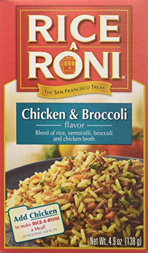 Rice-a-Roni Chicken and Broccoli Rice Mix, 4.9-Ounce (Pack of 12) (Rice A Roni Cups Chicken compare prices)