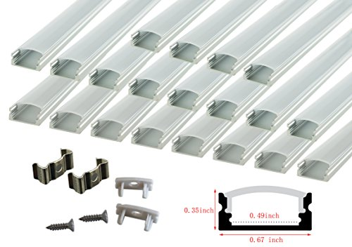 Led Strip Light Aluminium Extrusion