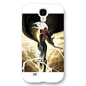 UniqueBox Customized Marvel Series Case for Samsung Galaxy S4, Marvel Comic Hero Storm Ororo Munroe Samsung Galaxy S4 Case, Only Fit for Samsung Galaxy S4 (White Frosted Case)