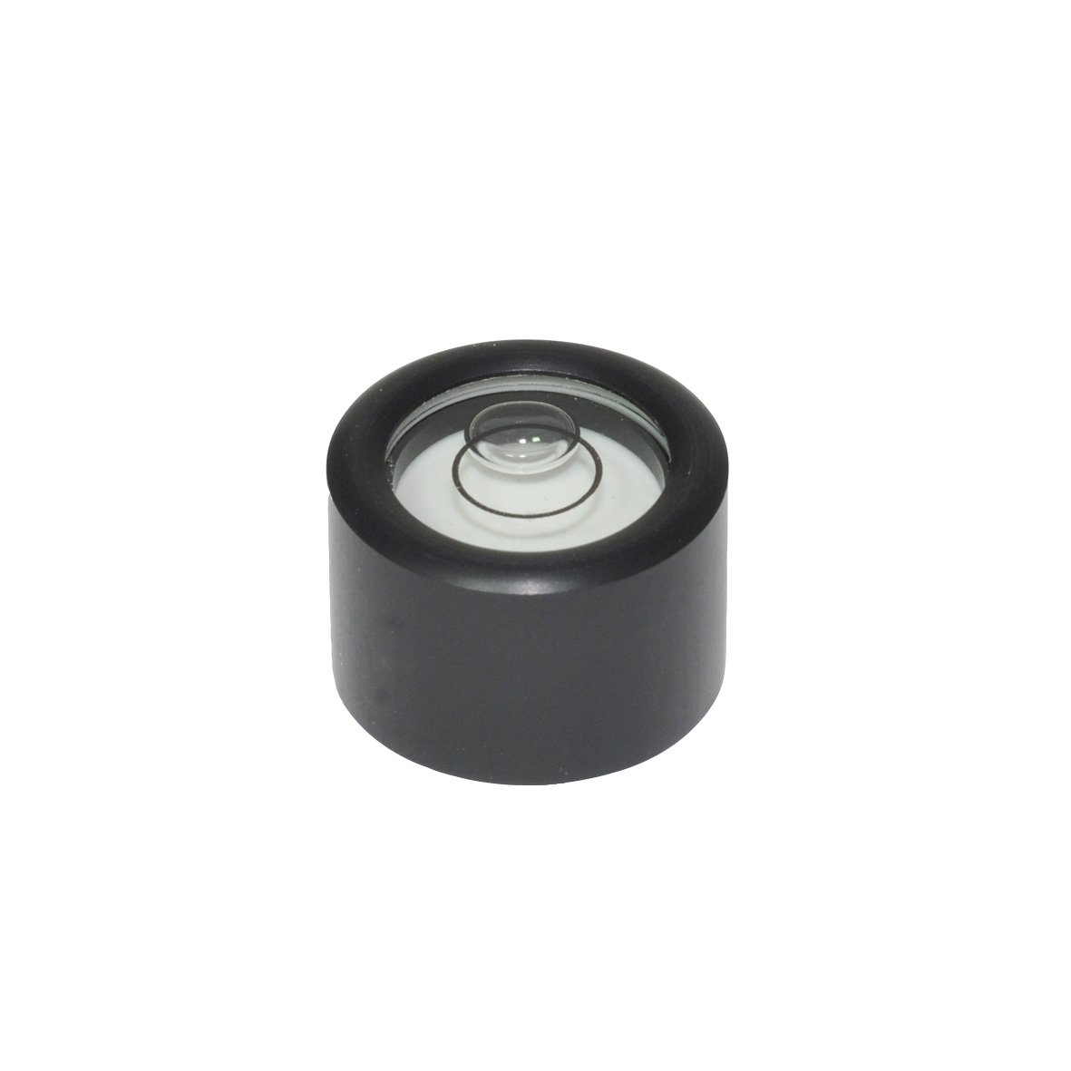 J.W. Winco GN2280 Aluminum Adjustable Bull's-Eye Level with Mounting Threads, 24mm (2280-ALS-24-K-30)