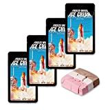 Freeze Dried Ice Cream Neapolitan (Chocolate-Vanilla-Strawberry) Astronaut Food - 4 Pack