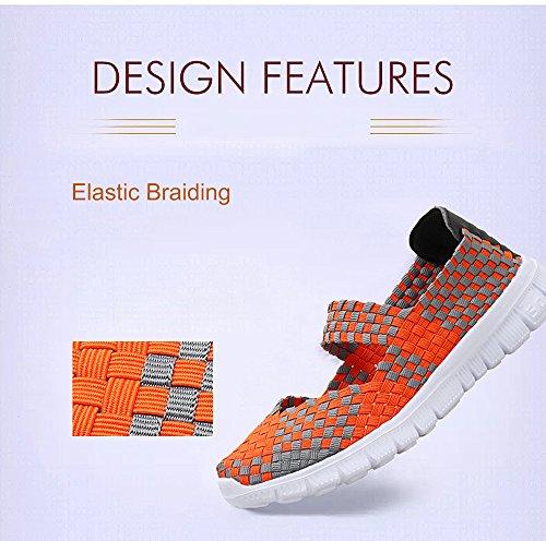 para Mujer Zapatillas Orange 075 FZDX XPR5wxq