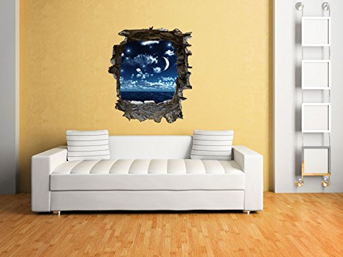 emejing wandtattoo 3d effekt photos. Black Bedroom Furniture Sets. Home Design Ideas