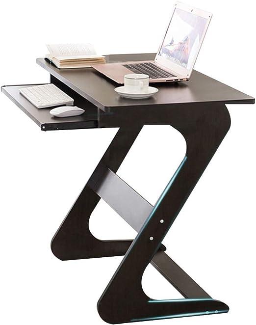 Escritorio para Laptop Mesa De Ordenador con Teclado Deslizante ...