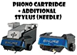 : Shure M97xE High-Performance Magnetic Phono Cartridge Plus Additional N97XE Replacement Stylus