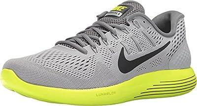 Nike Men's LunarGlide 8 CANNON/GREEN GLOW-BLACK-HASTA