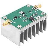 Akozon Signal Amplifier, 1-512MHz 1.6W Wideband Low Power RF Amplifier with Heat Sink for Shortwave FM Ham Radio