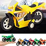 Gbell Mini Motorcycle Toy - Boys Pull Back Diecast Motorcycle, Early Model Educational Toys for Kids...