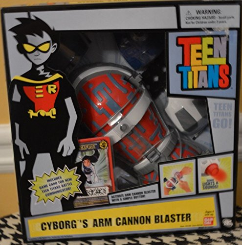 Teen Titans Cyborg's Arm Cannon Blaster (In Blue Box Packaging)