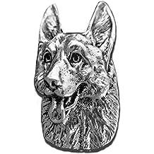 Precious Breeds Antique Pewter German Shepherd Pin