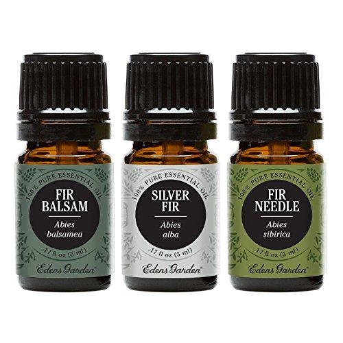 Fir Balsam, Silver Fir, Fir Needle Essential Oil (100% Pure, Undiluted Therapeutic/Best Grade) Premium Aromatherapy Oils by Edens Garden- 5 ml
