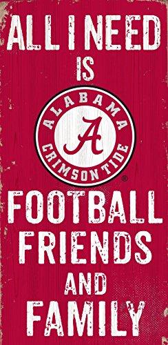 Football Alabama Wooden - Fan Creations Alabama Crimson Tide 12