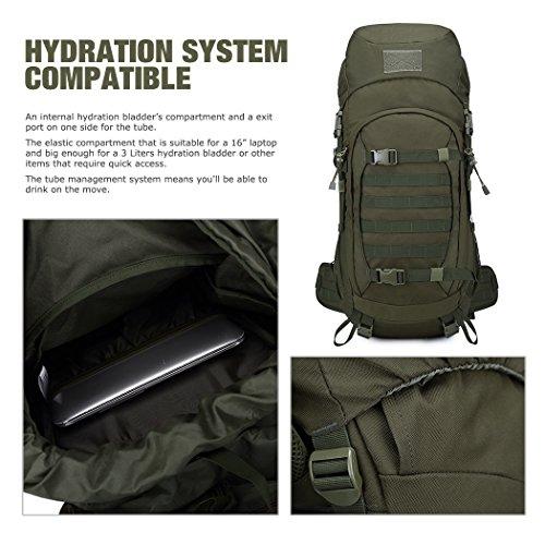 75161a1fbebe Mardingtop 50L/60L Hiking Backpack Molle Internal Frame Backpacks ...