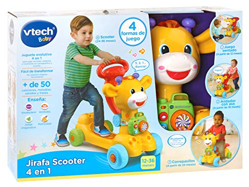Amazon.com: VTech – 3480 – 503522 Giraffe, Multicoloured (80 ...