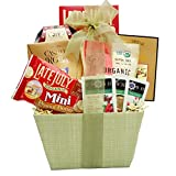 Broadway Basketeers Organic and Natural Healthy Gift Basket - A Healthy Gift Basket