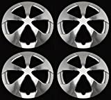 #4: BB Auto Set of 4 New Chrome 15 inch 5 Star Chrome Wheel Covers Hubcaps Replacement for 2012-2015 Toyota Prius
