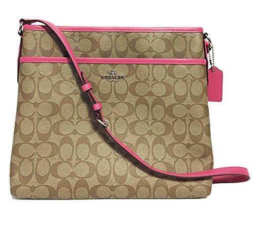 Coach Signature File Crossbody Bag - Coach Discount Store