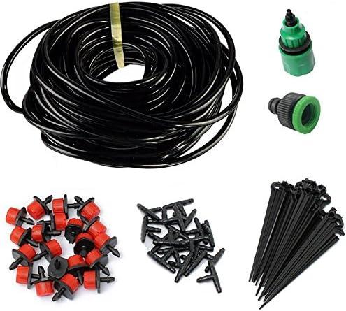 DIY Dripper Plant Self Watering Set Garden Hose Micro Drip Irrigation System Kit