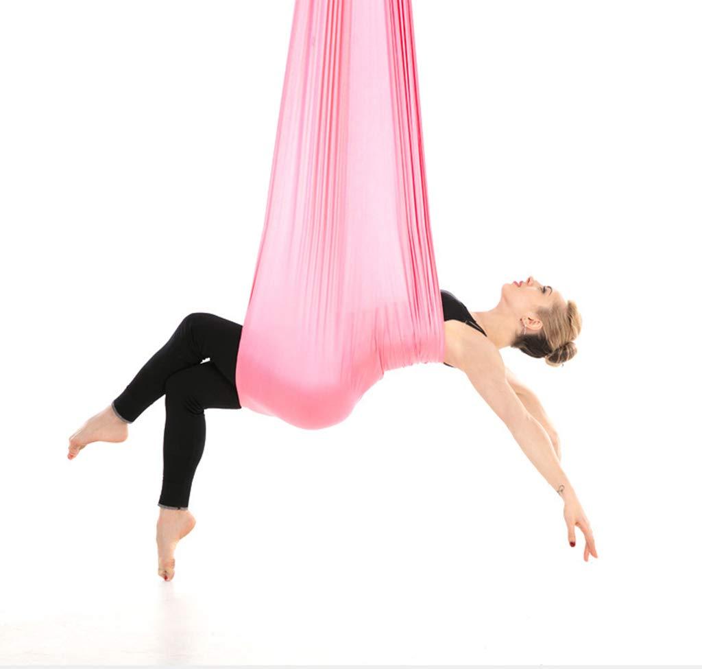 Aerial Yoga Hängematte Outdoor Hängematte, 4 Meter x 2,8 Meter geeignet für Hallenhöhen von 2,2 Metern-2,5 Meter hoch.