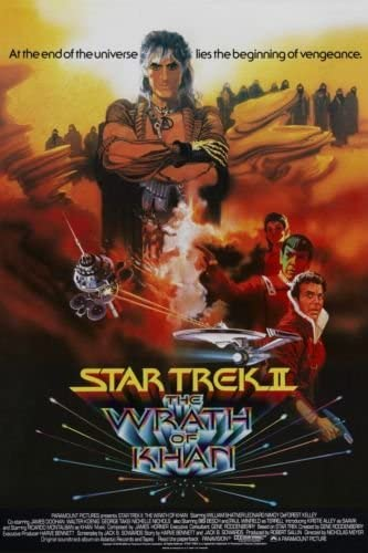 Amazon.com: Star Trek II: The Wrath of Khan (1982) Movie Poster 24 ...