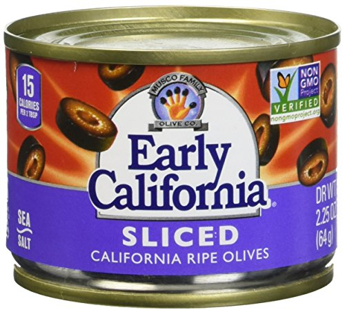 Early California Ripe Sliced Olives, 3.75 Pound by Early California