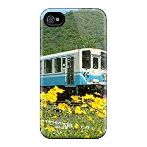 New Arrival Case Cover With JZyRwEL7706KIONc Design For Iphone 4/4s- Catching The Blue Bus