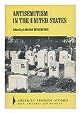 Antisemitism in the U. S., Leonard Dinnerstein, 0030833736