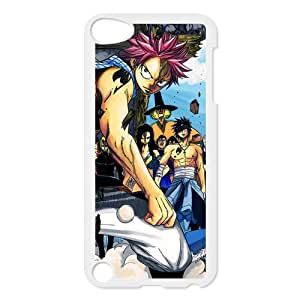 Custom Hot Anime Fair Tail Natsu Happy Lucy Gray Elza Scarlet Hard Plastic Phone Cover Case For Ipod touch 5,5s,5th Phone Shell