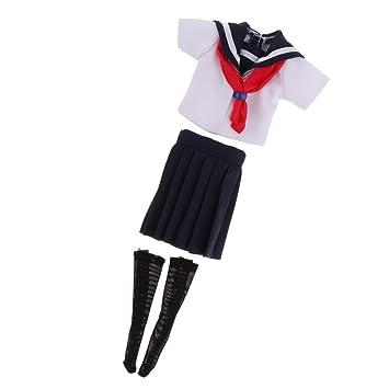 Amazon.es: Camisa Linda y Ropa Interior Mini Falda Uniforme Ropa ...