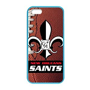 NFL Team NEW ORLEANS SAINTS Custom Colorful Case for iPhone 5,5s? by icecream design