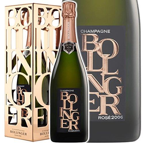 ボランジェ ロゼ 2006 GIFT BOX シャンパン ロゼ 辛口 750ml  B076392W3R