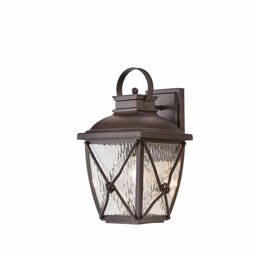 Home Decorators Collection HB7087-314 Springbrook 1-Light Rustic Outdoor Wall Mount Lantern