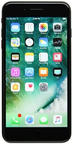Apple iPhone 7 Plus, 32GB, Black - For Sprint / Verizon (Renewed)