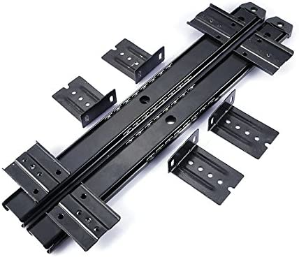 dometool UK muebles cajón diapositivas Rail 14 pulgadas ordenador ...