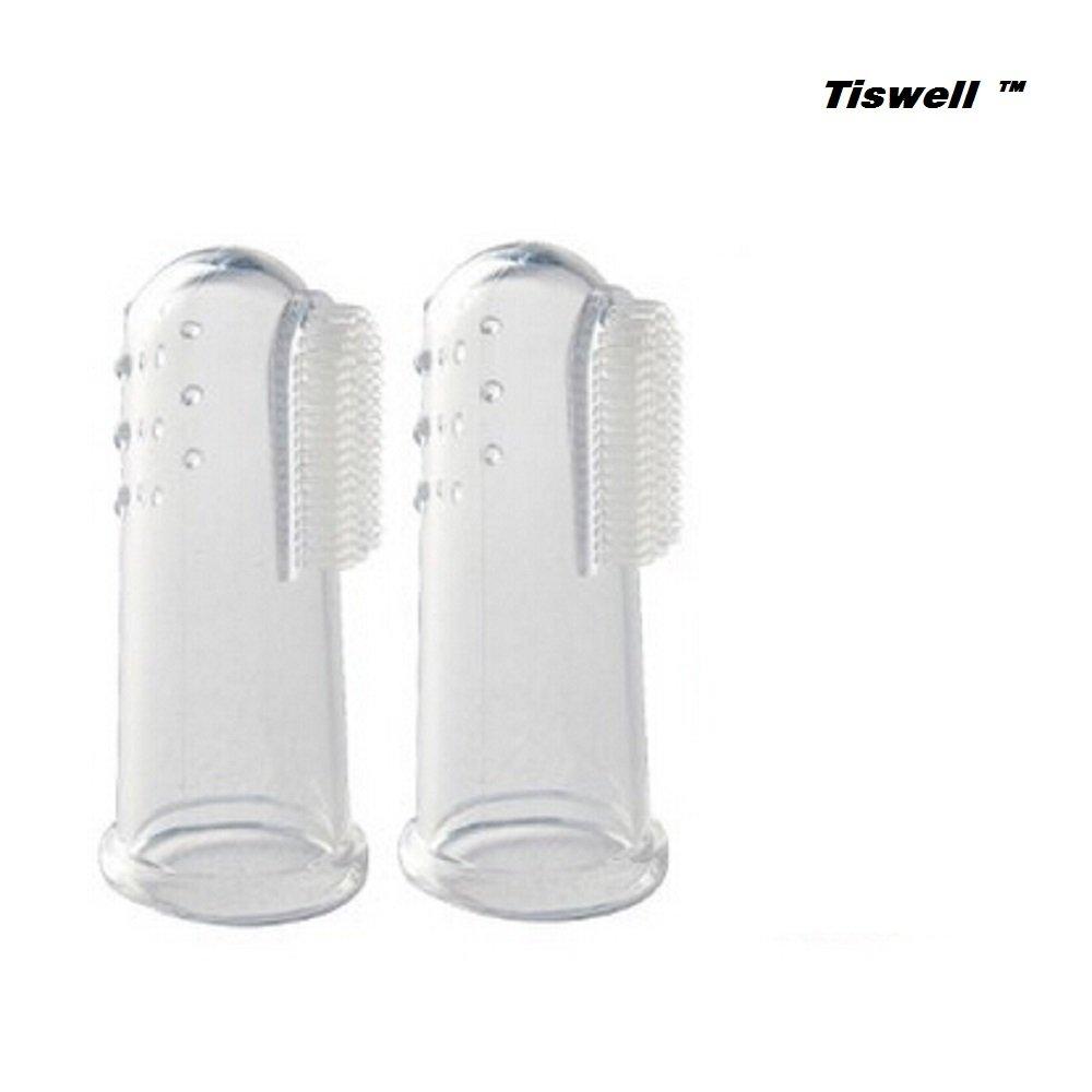 Tiswell Super suave dedo mascota cepillo de dientes, Tiswell silicona dientes de limpieza dental para perros gatos: Amazon.es: Productos para mascotas