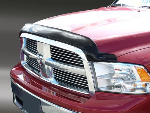 Stampede 2259-2 Vigilante Premium Smoke Bug Shield Hood Protector for Dodge RAM 1500 ()