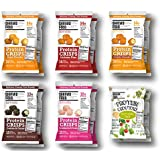Shrewd Food Keto Protein Crisps | High Protein, Low Carb, Gluten Free Snacks | Real Cheese, No Artificial Flavors | Soy Free, Peanut Free | VARIETY PACK (12 Bags, All Flavors)
