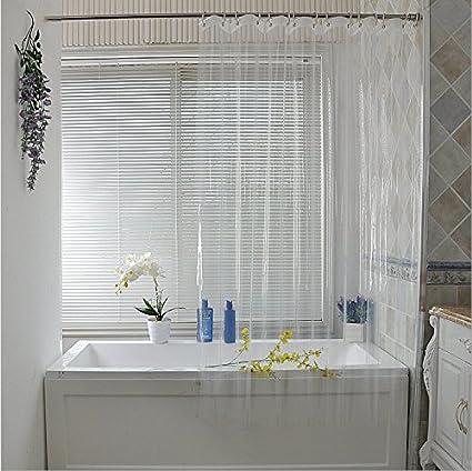 Ufelicity Bath Size Shower Curtain No Mildews 60 Inch By 72 Anti