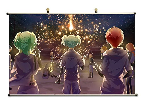 canvas-wall-scroll-poster-32x20-inches-assassination-classroom-kaede-kayano-nagisa-shiota-karma-akab
