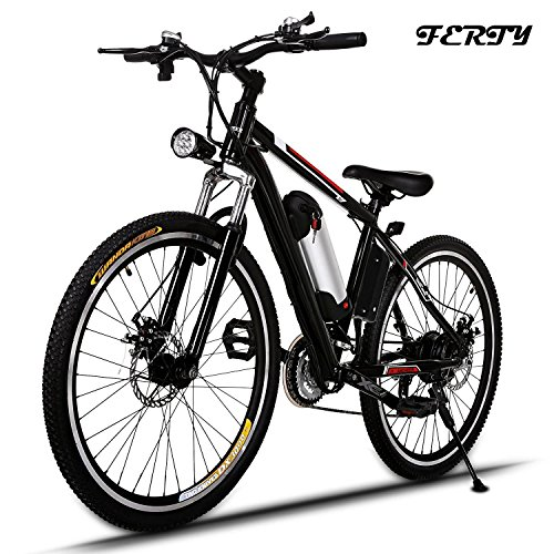 Ferty 2017 New Electric Mountain Bicycle Removable Battery (Large Image)