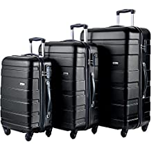 Merax MT Imagine Luggage Set 3 Piece Spinner Suitcase 20 24 28inch