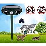 Ciara2016u Cat Repeller Ultrasonic Animal Repellent Deterrent Scarer - Motion Sensor Pest Bye
