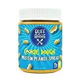 Protein Peanut Butter - Nut Butter Spread with 11 Grams of Whey Protein, Gluten Free, Non-GMO (Cookie Dough, 13 oz)