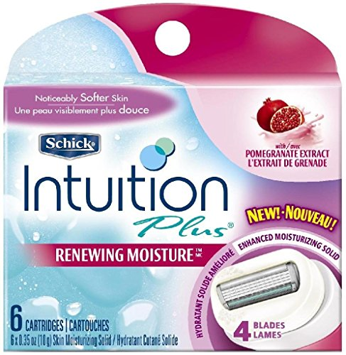 schick-intuition-renewing-moisture-razor-blade-refills-for-women-with-pomegranate-extract-6-count