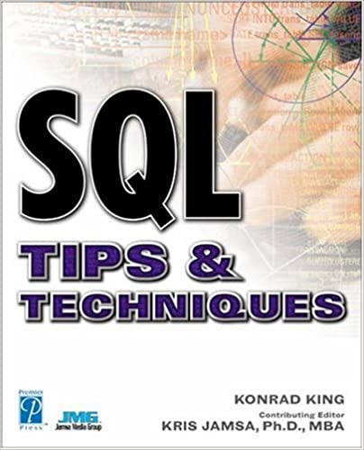 Book SQL Tips and Techniques