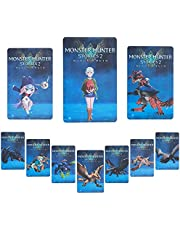 10 pcs Monster Hunter Stories 2:Wings of Ruin amiibo NFC Amiibo Card ,Compatible Switch Game Cards for Switch/Switch Lite
