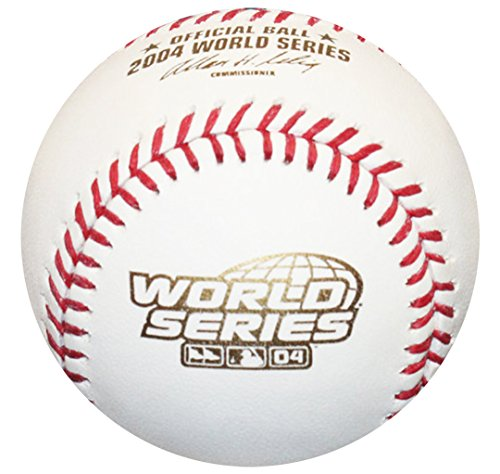 Rawlings 2004 World Series Official MLB Game Baseball - Boston Red Sox