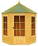 HIGHWOOD Gazebo Summerhouse, Honey Brown, 187x216x248 cm